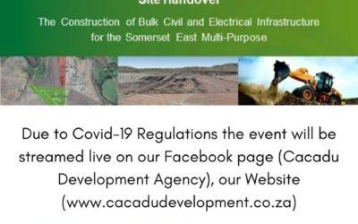 CDA Handover of Bulk Infrastructure
